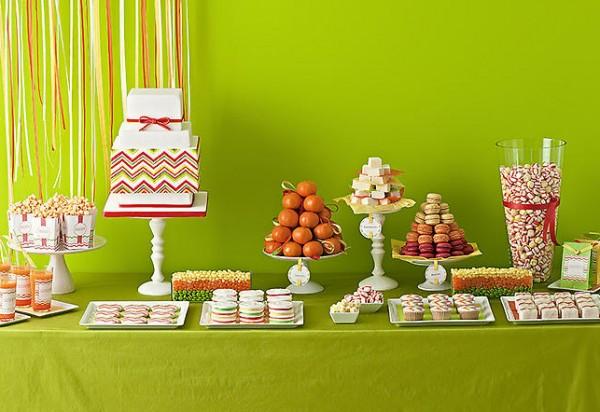 Bar à thème, candy bar, sweet table