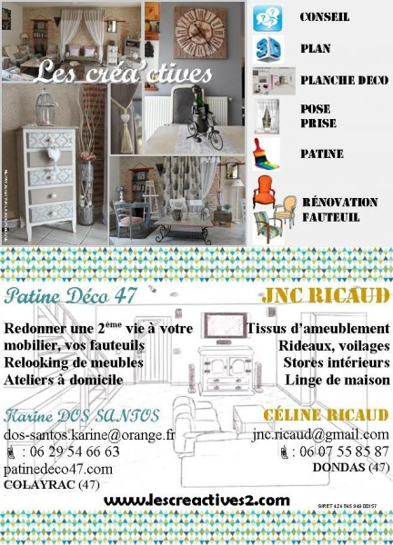 Flyer Les Créa'ctives