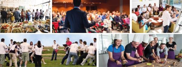 Evénements pros, Séminaire, Team building, Conférence