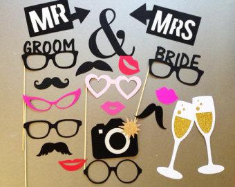 Accessoires Mr et Mrs